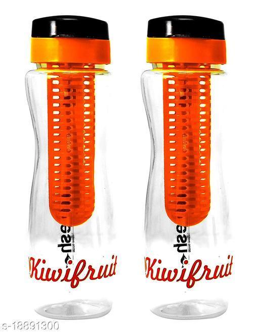 SAURA Hydro Infuser Bottle, Set of 2 - Orange
