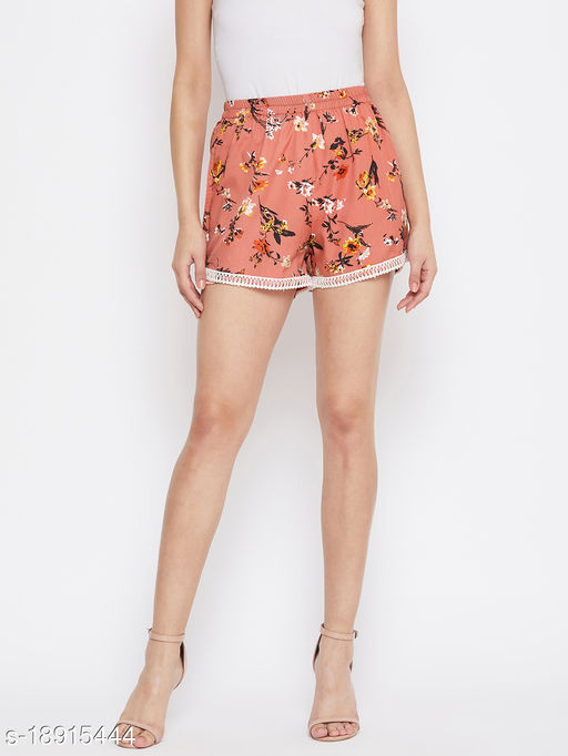LUCERO FLORAL ROUND ELASTIC WITH LACE DETAILING