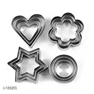 Amazing 12 Pieces Cookie Cutters