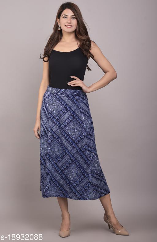 trendy  Rayon Women Ethnic Skirts