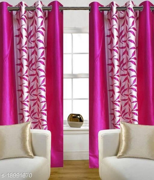 Shine Stylish Polyetser Door curtains