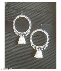 Charming Silver Plated Women's Earring