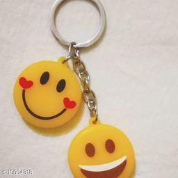 smiliey key chain