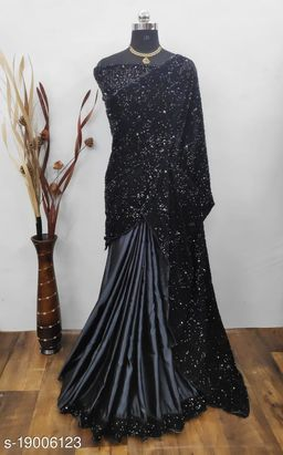 Fashionable Velvet Sarees