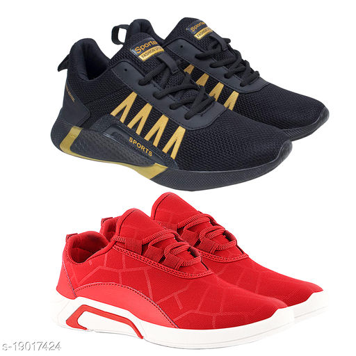 Attractive Men's Red Sports Shoes