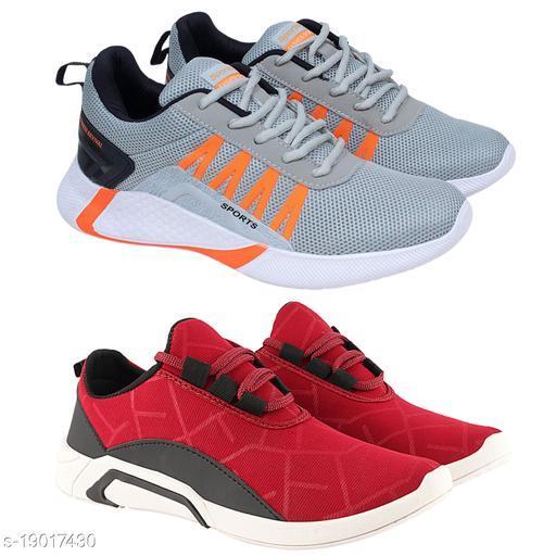 Stylish Men's PVC Coral Sports Shoes
