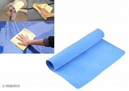 Magic Towel Reusable Water Absorbent for Kitchen/Car Cleaning Assorted Color pack of 1