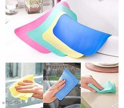 Magic Towel Reusable Water Absorbent for Kitchen/Car Cleaning Assorted Color pack of 6