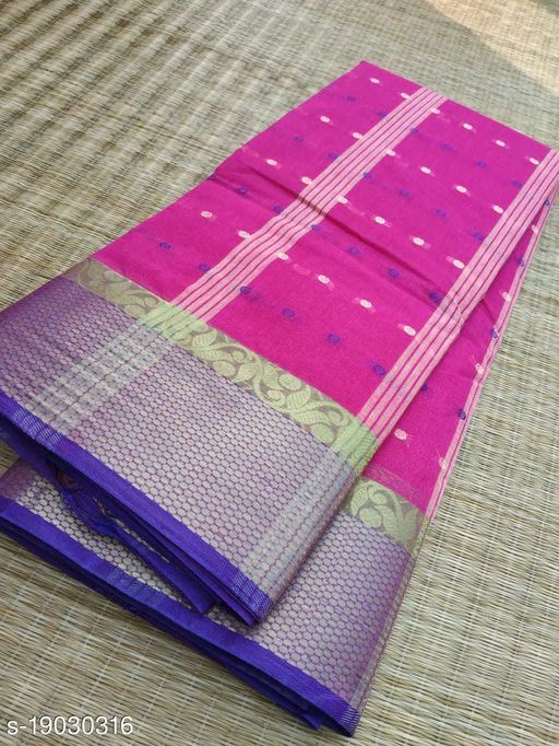 Pure Cotton Tant Saree