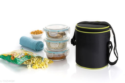 vp Multicolour Stainless Steel Lunch Box x