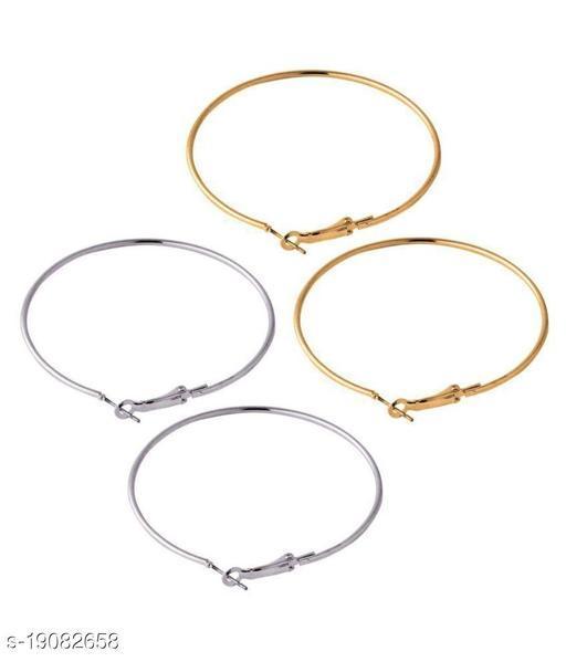 beautiful round earing pack of 2 pair