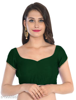 Linfa Paan Neck Padded Blouse