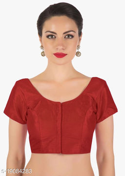 Linfa Round Neck Padded Blouse