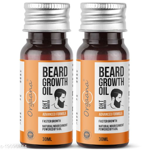 Beard Growth Oil-14 Nourishing Oils For Stronger, Fluffier & Shinier Beard 30 ml (Pack Of 2)  Made in India