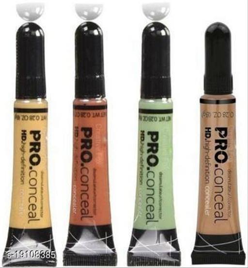 set of 4 HD pro Conceal Concealer (orange,green,yellow,beige) Concealer(orange, green, yellow, beige, 32 g)