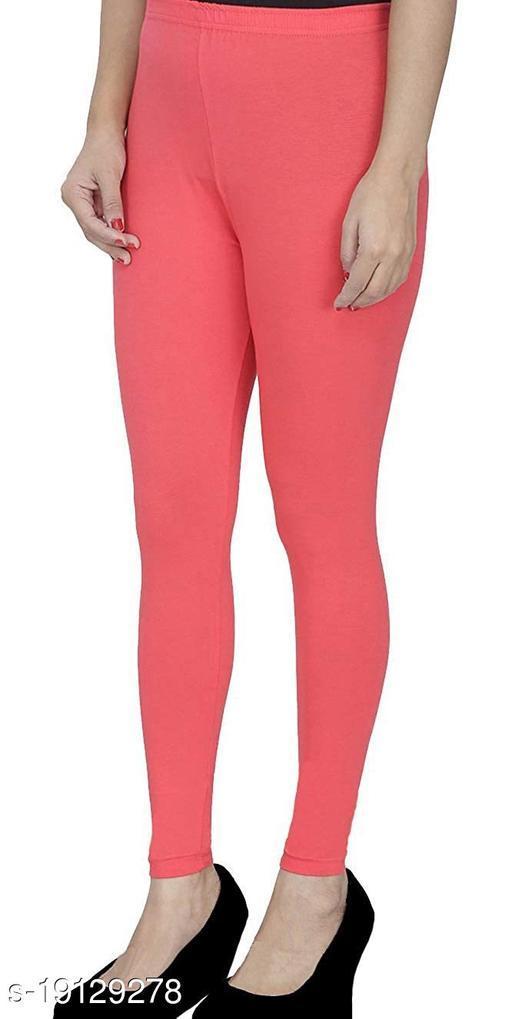 LA25's Women's Ankle length leggings|Leggings For Girls |Soft Stretchable Cotton Fabric | Slim Fit Leggings | Size available : ( S - 2XL )