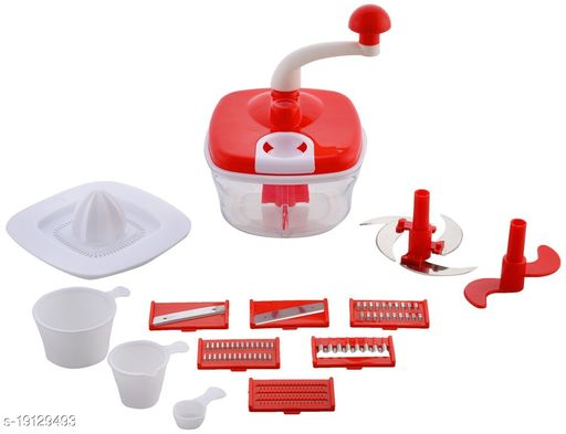 10in1 Multipurpose Manual Food Processor For Cutting,Mixing and Chopping