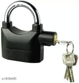 Mobone Anti-Theft Rainproof Alarm Electric Portable Alarm Lock Loud Siren Security (Black)
