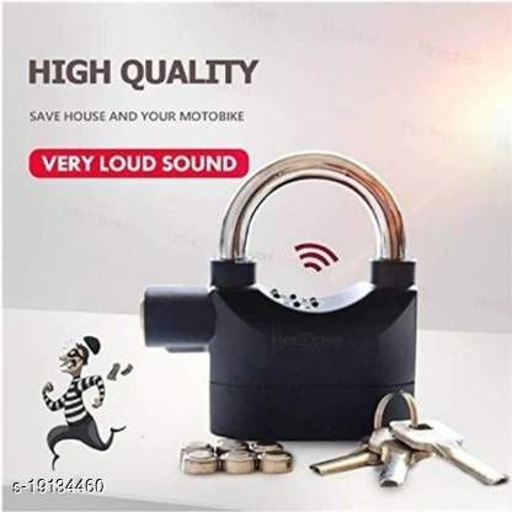 Mobone Sensor Security Alarm Lock Safety Lock (Black)