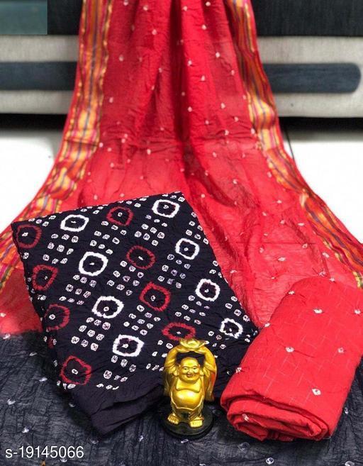 PURE COTTON BANDHANI DRESS MATRIAL