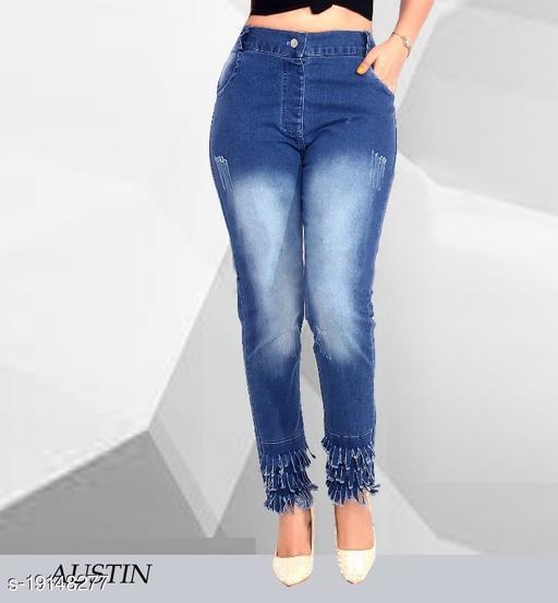 Women Ripped Denim jeans
