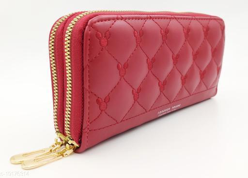 Attractive Women's Red Wallet
