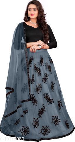 Tiya Attractive Net Semi-Stitched Women's Lehenga Cholis