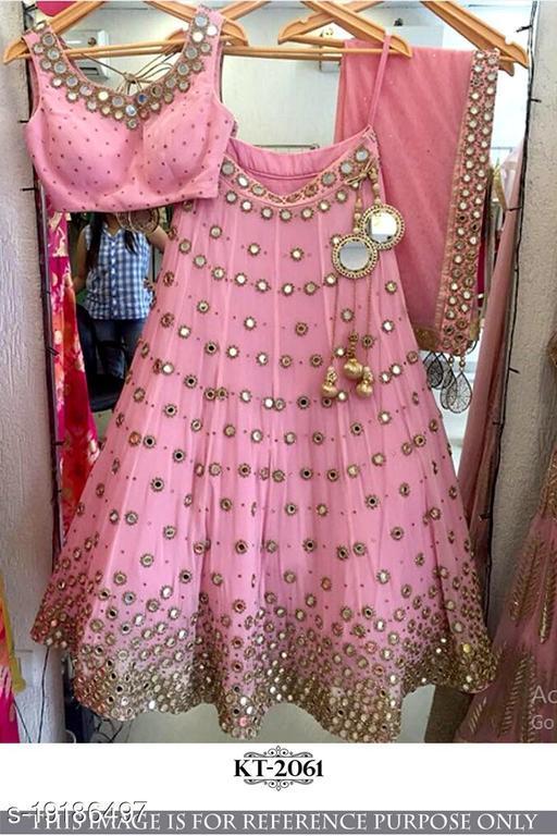 Trendy Art Silk Women Lehenga