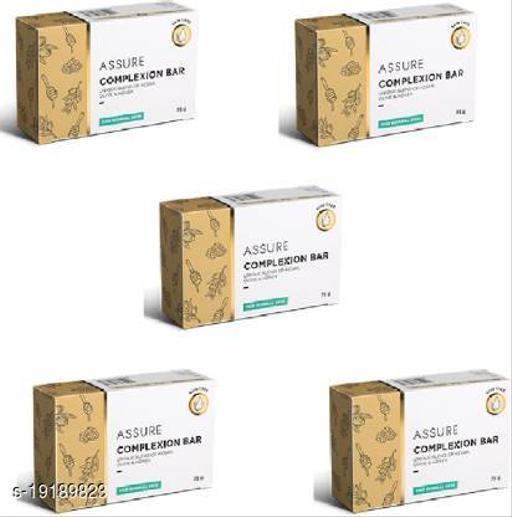Assure Complexion Bar (Unique Blend of Kesar Olive & Honey) 75gx5(5 x 75 g)