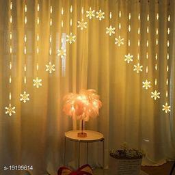 Tradehood (Warm White V Shape Snowflake Light) 12Stars 138 LED Star Lights, Star String Lights for Bedroom with 8 Lighting Modes, Waterproof Fairy Lights for Bedroom, Party, Christmas Lights
