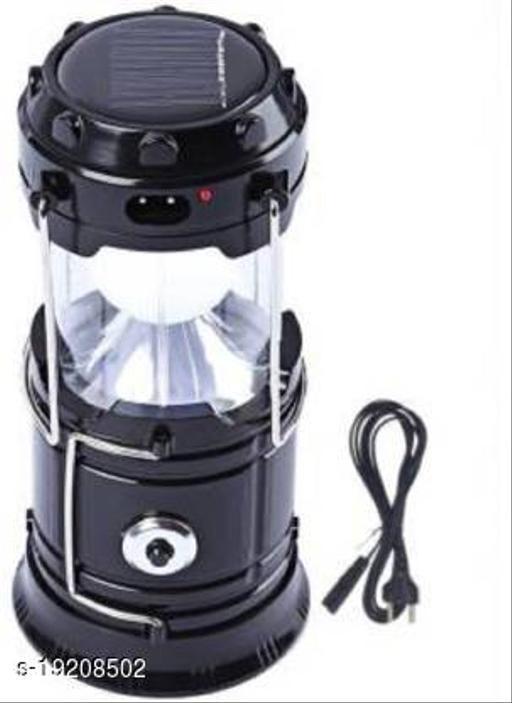 Fancy Solar Emergency Light Bulb Mini Fan Camping Lamp Blue Plastic Hanging Lantern Blue Plastic Hanging Lantern Sola Solar Light Set- Black