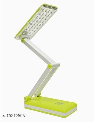 Fancy Rechargeable Adjustable LED Lamp With Attached Solar Panel Desk Lamps Study Lamp + USB Mobile Charging Study Lamp(47 cm, Green, Blue, Pink)