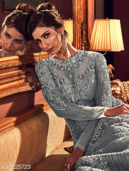 Aagyeyi Alluring Semi-Stitched Suits