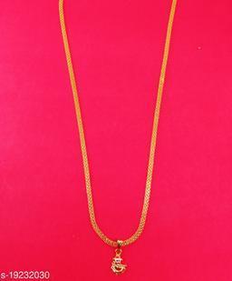 Stylish Men's Chain And Pendant