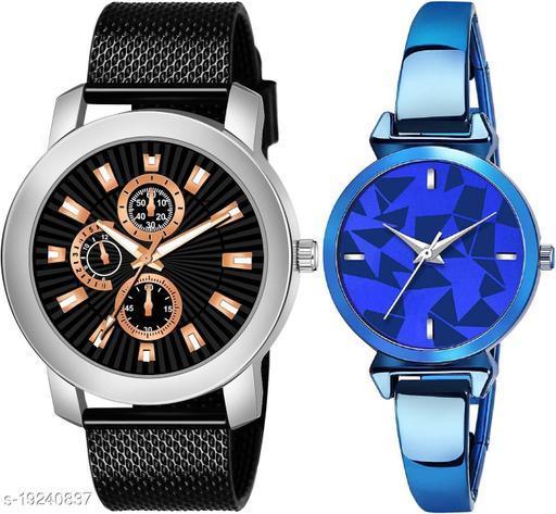 New Desigen And Fancy Couple Watch
