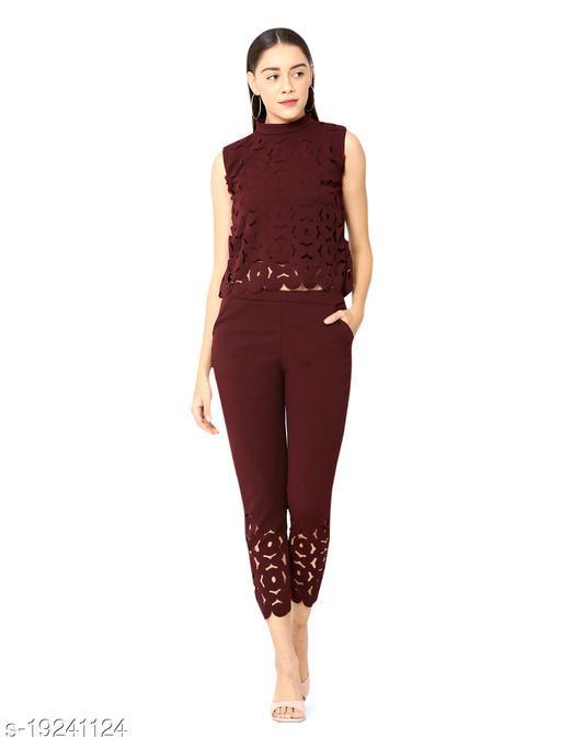 stylemyth Women Rayon Solid Jumpsuit