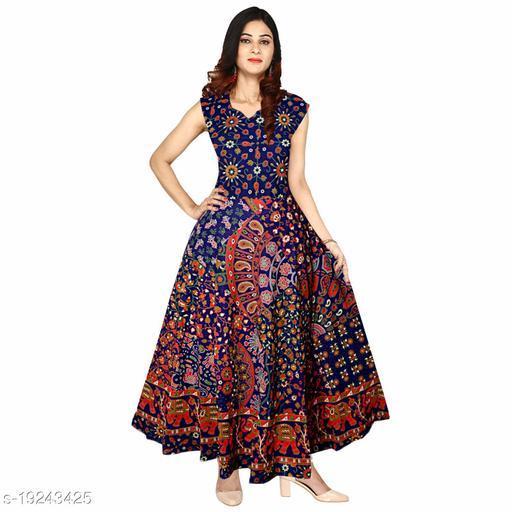 Women's Casual Cotton Long Maxi Dress