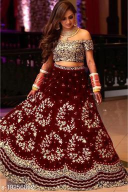 Beautiful Semi Stitched Lehenga Choli