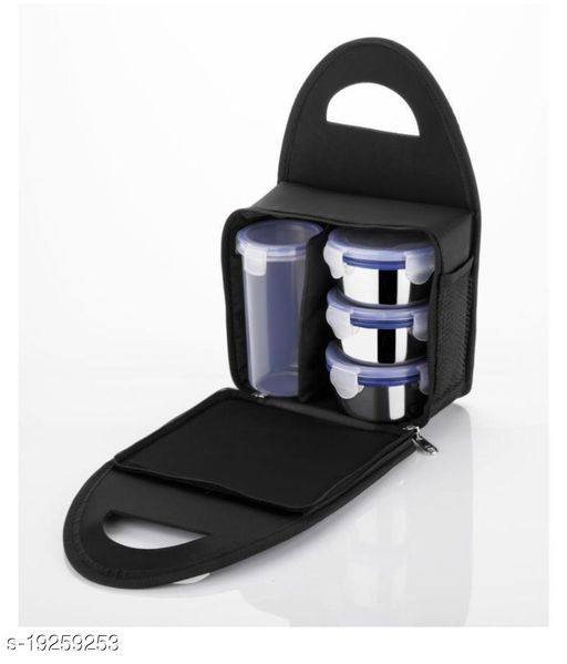 Multicolour Stainless Steel Lunch Box e