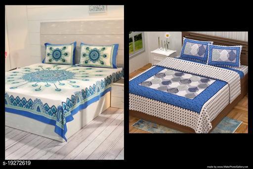 Combo Double Bedsheet Set