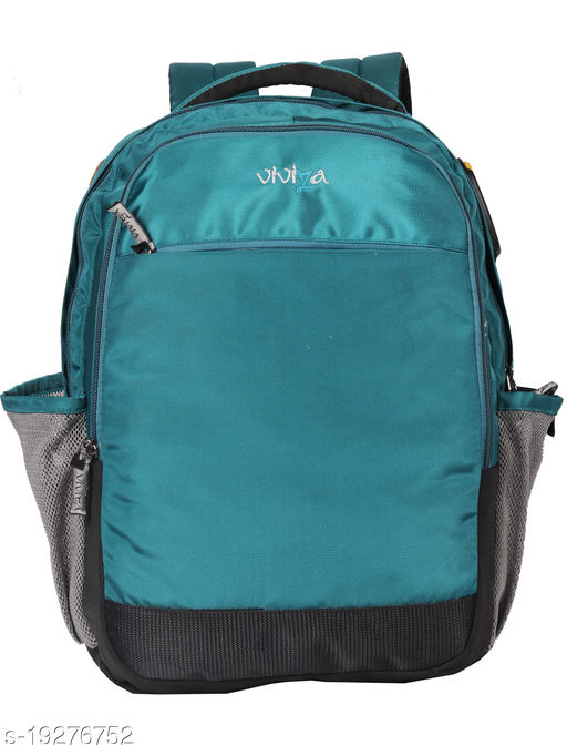 Viviza Bags Nylon 21 LTR School and College Backpack for Boys and Girls (Hutch)