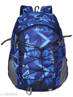 VIVIZA Bags for Men   School Backpack   College Bag Pack   Backpack for Women   27 L Navy Blue Bag
