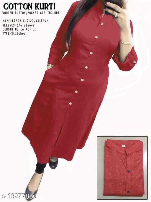 Women's cotton kurtas