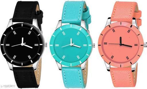MMDnew attrective 3 watch combo Analog Watch