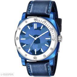 Best Watch Fashion C_14_Men Blue chekas design Dial Blue strap Premium Quality Designer Fashion For Men Analog Watch