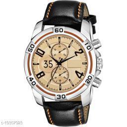 Best Watch C15 New Orange Dummy Chronograph Sports Analog Watch