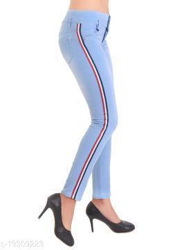 Fancy Elegant Women Jeans