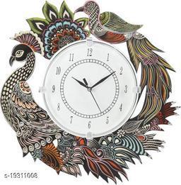 apnoghar Ajenta Wall Clock for Home Living Room Office (12.5 in*13 in)