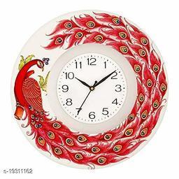 Decorative Design Ajanta Wall Clock for Home Living Room Office Bedroom Decor (12 x 12 Inch)