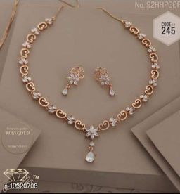 Laksh New Design Necklace With Pair Of Earring